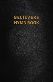 Believers Hymn Book, Revised Edition--genuine leather, black