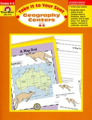 Take It to Your Seat: Geography Centers, Grade 4-5