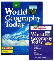 Holt World Geography Today Homeschool Package
