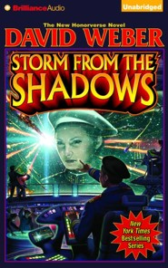 Storm from the Shadows - unabridged audio book on CD