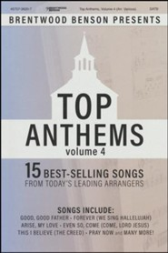 Top Anthems, Volume 4 (Choral Book)
