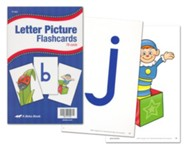 Abeka K4-K5 Letter Picture Flashcards (78 cards)