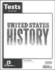 BJU U.S. History Grade 11 Test Pack (Fourth Edition)