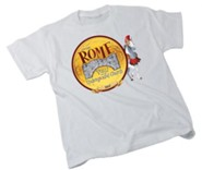 Rome VBS 2017: Theme Adult T-shirt (Large, 42-44)