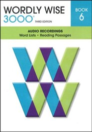 Wordly Wise 3000 Book 6 Audio CD, 3rd Edition