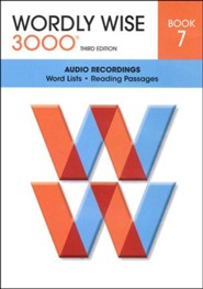 Wordly Wise 3000 Book 7, Audio CD 3rd Edition