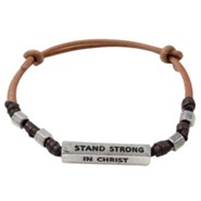 Stand Strong In Christ, Men's Bracelet