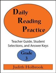 Daily Reading Practice Grade 3 Teacher Guide