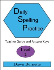 Daily Spelling Practice Level 2 Teacher Guide