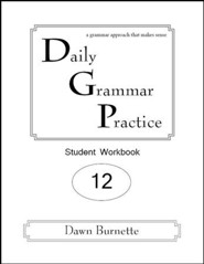 Daily Grammar Practice Grade 12 Student Workbook (2nd  Edition)