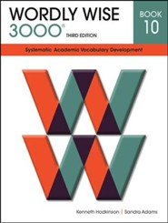 Wordly Wise 3000 Student Book Gr 10, 3rd Edition