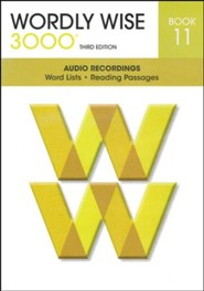 Wordly Wise 3000 Book 11 Audio CD, 3rd Edition