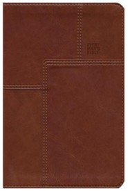 Imitation Leather Brown Book Black Letter Messenger Edition - Slightly Imperfect