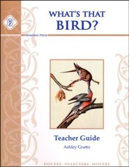 What's That Bird? Teacher Guide