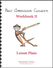 New American Cursive 2 Lesson Plans