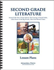 2nd Grade Literature Lesson Plans
