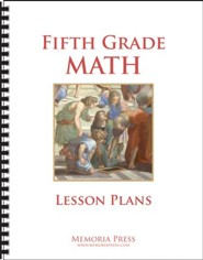5th Grade Math Lesson Plans