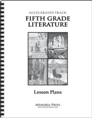 5th Grade Accelerated Literature Lesson Plans