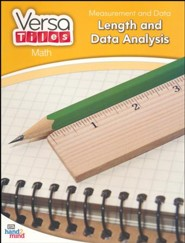 VersaTiles Math: Measurement and Data Length, Time, and Analysis (Grade 2)