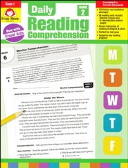 Daily Reading Comprehension, Grade 2 (2018 Revision)