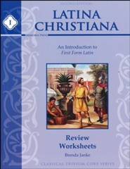Latina Christiana Review Worksheets 1 (2nd Edition)