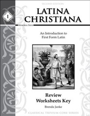 Latina Christiana Review Worksheets Key 1 (2nd Edition)