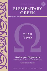 Elementary Greek Year 2 Textbook (2nd Edition)