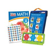 VersaTiles Math Skill Practice Kit Grade 4 (At Home Edition)