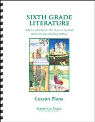 6th Grade Literature Lesson Plans