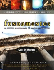 Fundamentos, Gu&#237a del L&#237der  (Foundations, Leader's Guide)