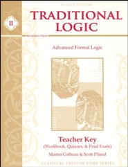 Advanced Formal Logic Answer Key 2nd Edition