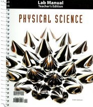 Physical Science Lab Manual Teacher's Edition (5th Edition)
