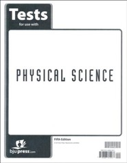 Physical Science Tests (5th Edition)