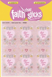 Stickers: God Loves You