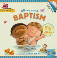 Tell Me about Baptism (with stickers & CD): Wonder Kids-Train 'Em Up