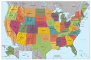 Uncle Josh's US Color Wall Map