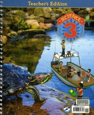BJU Science Grade 3 Teacher's Edition with CD-ROM, Fourth  Edition