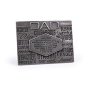 Dad, Stand Firm Plaque