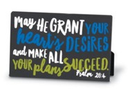 Graduate Success Plaque, Black