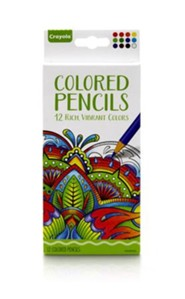Colored Pencils for Adults, Pack of 12