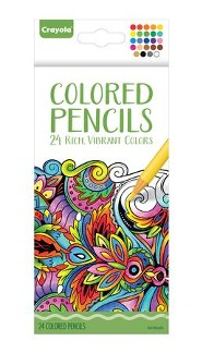 Colored Pencils for Adults, Pack of 24