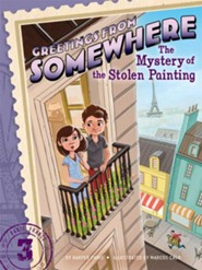 The Mystery of the Stolen Painting  -     By: Harper Paris     Illustrated By: Marcos Calo