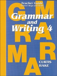 Saxon Grammar and Writing Grade 4 Teacher Guide
