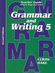 Saxon Grammar & Writing Grade 5 Teacher Guide, 2nd Edition Edition