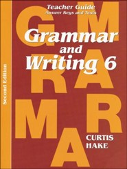 Saxon Grammar & Writing Grade 6 Teacher Guide, 2nd Edition