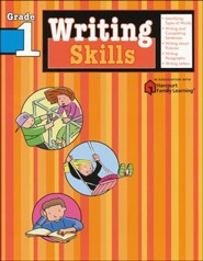 Writing Skills Flash Kids Workbook, Grade 1