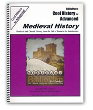 BiblioPlan's Cool History for Advanced: Medieval History (Grades 8-12)
