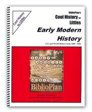 BiblioPlan Cool History for Littles: Early Modern History, Grades K-2