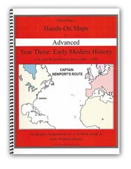 BiblioPlan's Hands-On Maps for Advanced: Early Modern History, Grades 8-12