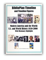 BiblioPlan Timeline for Year Four: Modern History